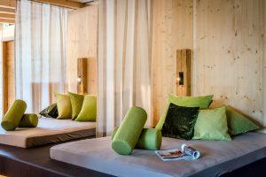 Wellnessliegen für Zwei, Wellnessliegen für Paare, Romantikhotel Garmisch