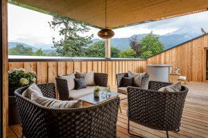 Top Suite Garmisch, Suite mit Dachterrasse