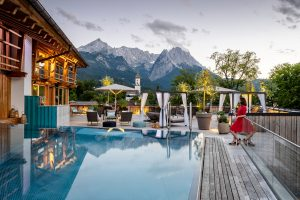 Hotel mit Rooftop Spa