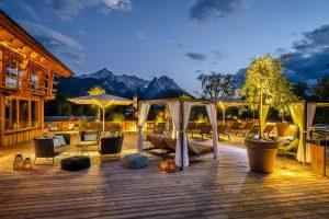 Wellnesshotel Garmisch - Abendaufnahme